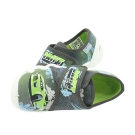 Befado obuwie dziecięce 273X288 szare zielone 5