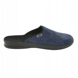 Befado obuwie męskie pu 548M018 niebieskie 6