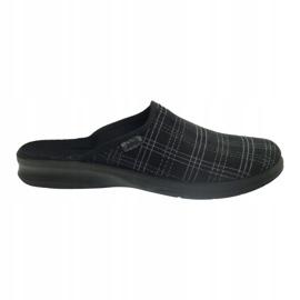 Befado obuwie męskie pu 548M011 czarne 6