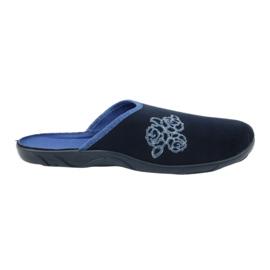 Befado kolorowe obuwie damskie pu 235D157 granatowe niebieskie 7