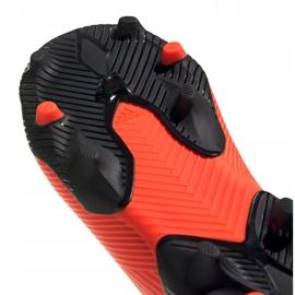 Buty piłkarskie adidas Nemeziz 19.3 Ll Fg Jr EH0488 pomarańczowe czerwone 3