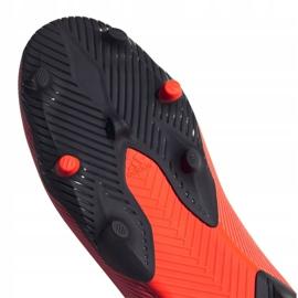 Buty piłkarskie adidas Nemeziz 19.3 Ll Fg M EH1092 wielokolorowe pomarańczowe 1