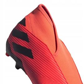 Buty piłkarskie adidas Nemeziz 19.3 Ll Fg M EH1092 wielokolorowe pomarańczowe 2