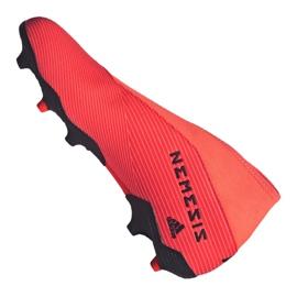 Buty piłkarskie adidas Nemeziz 19.3 Ll Fg M EH1092 wielokolorowe pomarańczowe 6