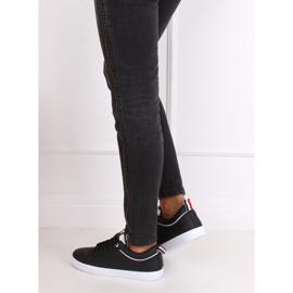 Trampki damskie czarne B0-501 Black 4