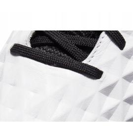 Buty piłkarskie Nike Tiempo Legend 8 Elite M Fg AT5293 104 białe wielokolorowe 5