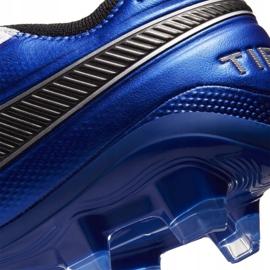 Buty piłkarskie Nike Tiempo Legend 8 Elite M Fg AT5293 104 białe wielokolorowe 6