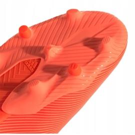 Buty piłkarskie adidas Nemeziz 19.3 Fg Jr EH0492 czerwone czerwone 1