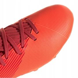 Buty piłkarskie adidas Nemeziz 19.3 Fg Jr EH0492 czerwone czerwone 3