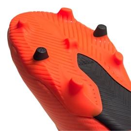 Buty piłkarskie adidas Nemeziz 19.2 Fg M EH0293 czerwone czerwone 1
