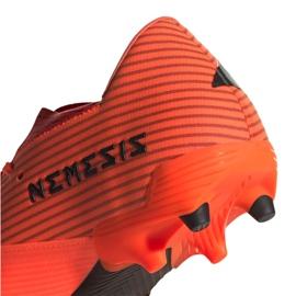 Buty piłkarskie adidas Nemeziz 19.2 Fg M EH0293 czerwone czerwone 2