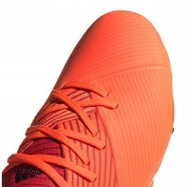 Buty piłkarskie adidas Nemeziz 19.2 Fg M EH0293 czerwone czerwone 3
