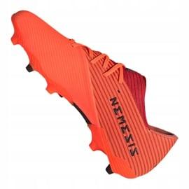 Buty piłkarskie adidas Nemeziz 19.2 Fg M EH0293 czerwone czerwone 6