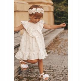 FRROCK Dziecięce Sandałki Na Rzep Świecące Białe Milena 8