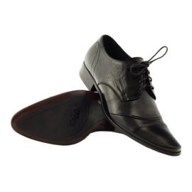 Półbuty buty męskie skórzane Pilpol 1138 czarne 3