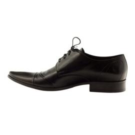 Półbuty buty męskie skórzane Pilpol 1138 czarne 2