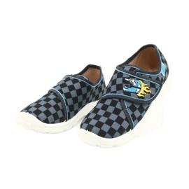 Befado obuwie dziecięce  974X411 czarne szare 3