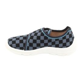 Befado obuwie dziecięce  974X411 czarne szare 2