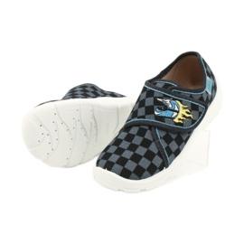 Befado obuwie dziecięce  974X411 czarne szare 4