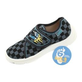 Befado obuwie dziecięce  974X411 czarne szare 6