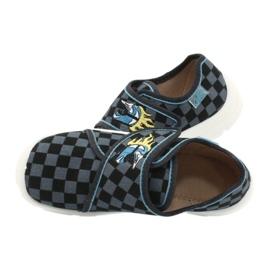 Befado obuwie dziecięce  974X411 czarne szare 5