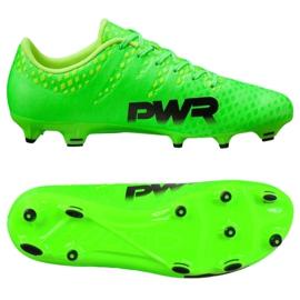 Buty piłkarskie Puma Evo Power 3 Fg 103956 01 zielone 1