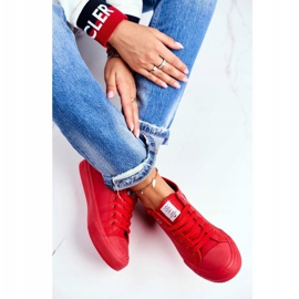 Damskie Trampki Cross Jeans Czerwone DD2R4032 1