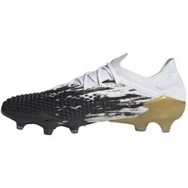 Buty piłkarskie adidas Predator Mutator 20.1 L M Fg FW9182 białe szare 2