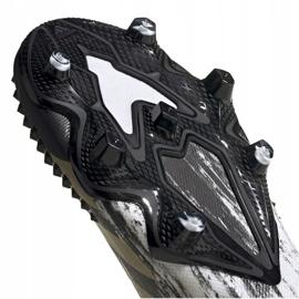 Buty piłkarskie adidas Predator Mutator 20.1 L M Fg FW9182 białe szare 4