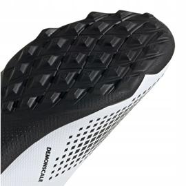 Buty piłkarskie adidas Predator 20.3 Ll Tf Jr FW9211 białe czarny, biały, czarny, szary/srebrny 1