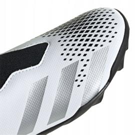 Buty piłkarskie adidas Predator 20.3 Ll Tf Jr FW9211 białe czarny, biały, czarny, szary/srebrny 3