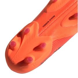 Buty piłkarskie adidas Nemeziz 19+ Fg M EH0772 pomarańczowe wielokolorowe 1