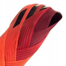 Buty piłkarskie adidas Nemeziz 19+ Fg M EH0772 pomarańczowe wielokolorowe 3