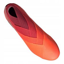 Buty piłkarskie adidas Nemeziz 19+ Fg M EH0772 pomarańczowe wielokolorowe 4