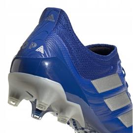 Buty piłkarskie adidas Copa 20.1 Ag M EH0880 wielokolorowe niebieskie 1