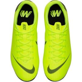 Buty piłkarskie Nike Mercurial Vapor 12 Academy Mg Jr AH7347 701 żółte 1