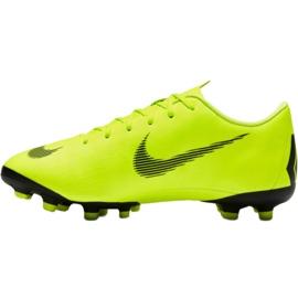 Buty piłkarskie Nike Mercurial Vapor 12 Academy Mg Jr AH7347 701 żółte 2
