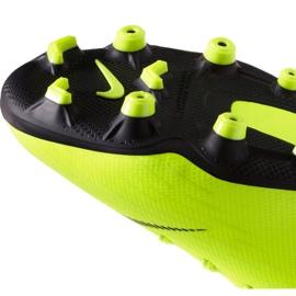 Buty piłkarskie Nike Mercurial Vapor 12 Academy Mg Jr AH7347 701 żółte 4