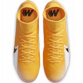 Buty piłkarskie Nike Mercurial Superfly 7 Academy M FG/MG AT7946 801 pomarańczowe wielokolorowe 1
