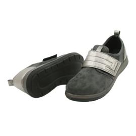 Befado obuwie damskie 156D003 czarne szare 6