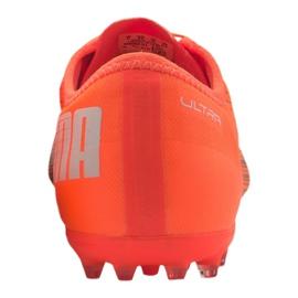Buty piłkarskie Puma Ultra 2.1 Mg M 106082-01 pomarańczowe wielokolorowe 1