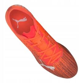 Buty piłkarskie Puma Ultra 2.1 Mg M 106082-01 pomarańczowe wielokolorowe 2