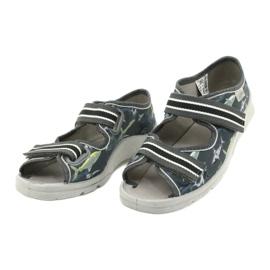 Befado obuwie dziecięce 969Y158 szare 3