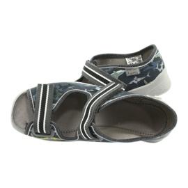 Befado obuwie dziecięce 969Y158 szare 5