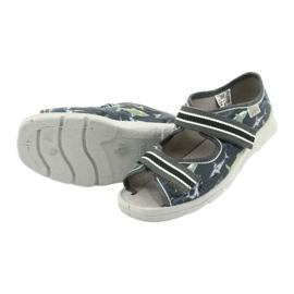 Befado obuwie dziecięce 969Y158 szare 4