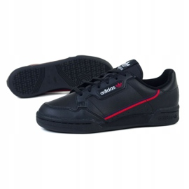 Buty adidas Continental Jr F99786 czarne 1