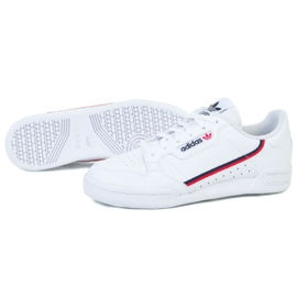 Buty adidas Continental 80 Jr F99787 białe czarne 1