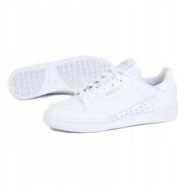 Buty adidas Continental 80 Jr FU6669 białe czarne 1