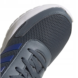 Buty adidas Tensaur Run Jr FV9444 szare 4