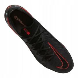 Buty piłkarskie Nike Phantom Gt Elite Fg M CK8439-060 czarne wielokolorowe 3